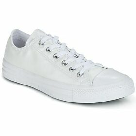 Converse  CHUCK TAYLOR ALL STAR SEASONAL METALLICS OX  women's Shoes (Trainers) in White
