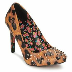 Iron Fist  CHANGE YOUR SPOTS  women's Court Shoes in Brown