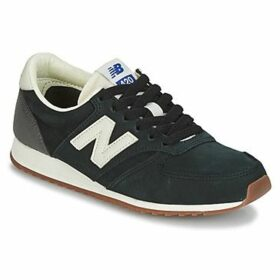 New Balance  U420  women's Shoes (Trainers) in Black