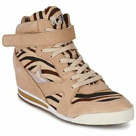 Ash  JAZZ  women's Shoes (High-top Trainers) in Beige