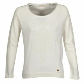 Teddy Smith  SOSWEET  women's Sweatshirt in Beige