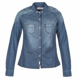 Freeman T.Porter  CELESTE DENIM FRESH  women's Shirt in Blue