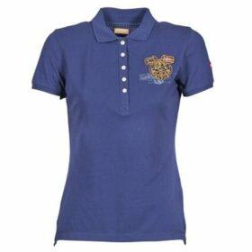 Napapijri  EGUILLES  women's Polo shirt in Blue