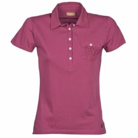Napapijri  EZE  women's Polo shirt in Pink