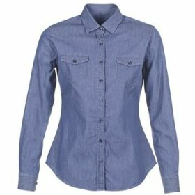 Yurban  FERVINE  women's Shirt in Blue
