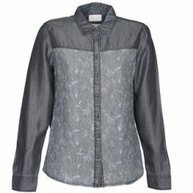 Esprit  Denim Blouse  women's Shirt in Grey