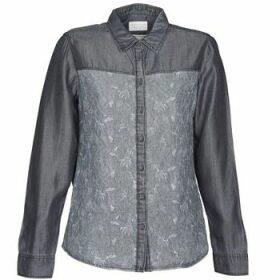 Esprit  Denim Blouse  women's Shirt in Grey