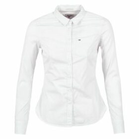 Tommy Jeans  YAPAD  women's Shirt in White