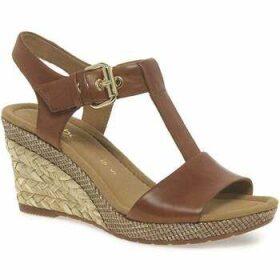 Gabor  Karen Womens Modern Sandals  women's Sandals in Brown