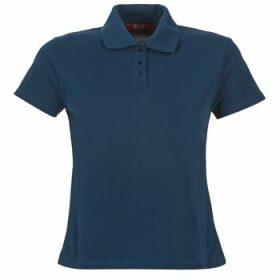 BOTD  ECLOVERA  women's Polo shirt in Blue