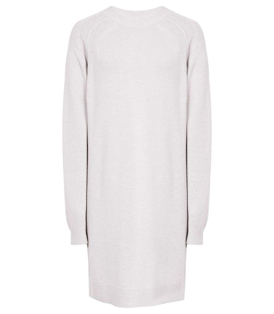 Reiss Blanca - Crew-neck Knit Dress in Heather, Womens, Size 4
