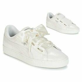Puma  Basket Heart sintillant  women's Shoes (Trainers) in White