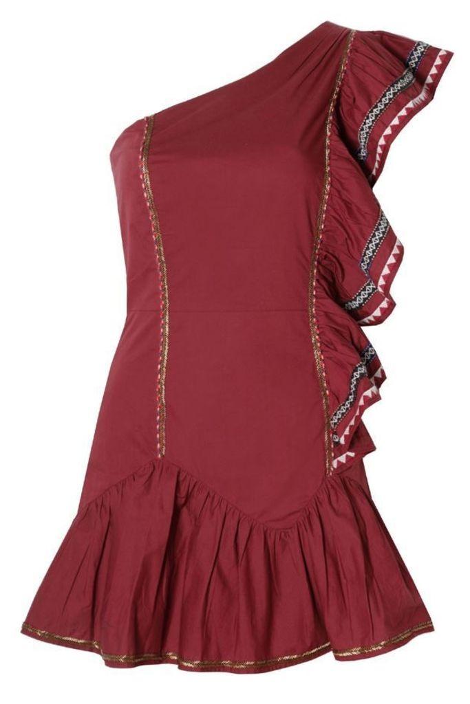 Veronica Dress Cayenne