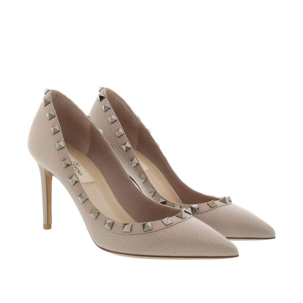 Valentino Pumps - Rockstud Pump Poudre - in rose - Pumps for ladies