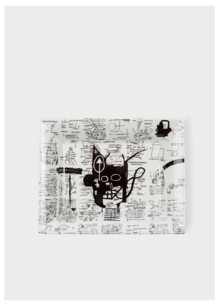 Untitled 1983 - Jean-Michel Basquiat - Limoges Porcelain Tray
