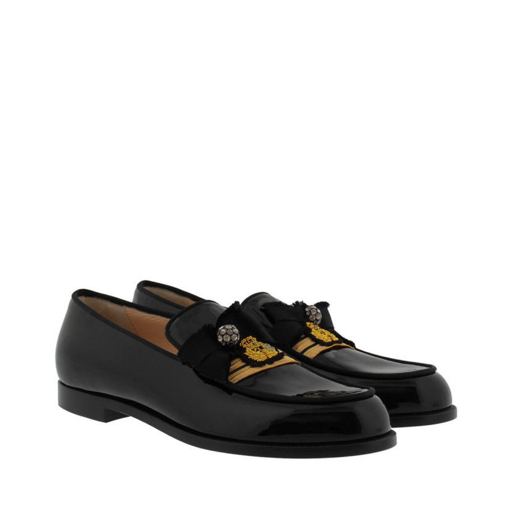 Christian Louboutin Loafers & Slippers - Loubyguard Loafers Black/Gold - in black - Loafers & Slippers for ladies