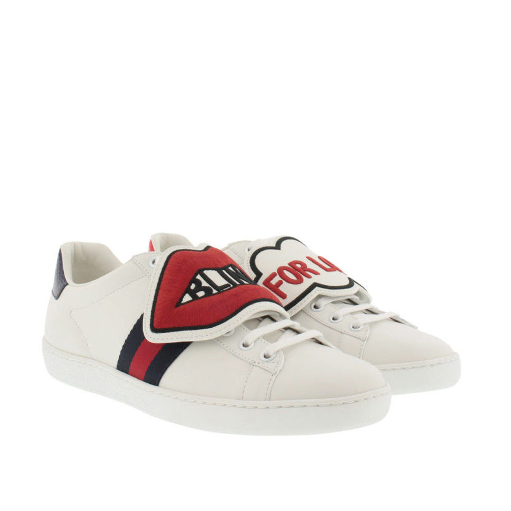 Gucci Sneakers - Ace Sneaker With Removable Patches White - in white - Sneakers for ladies
