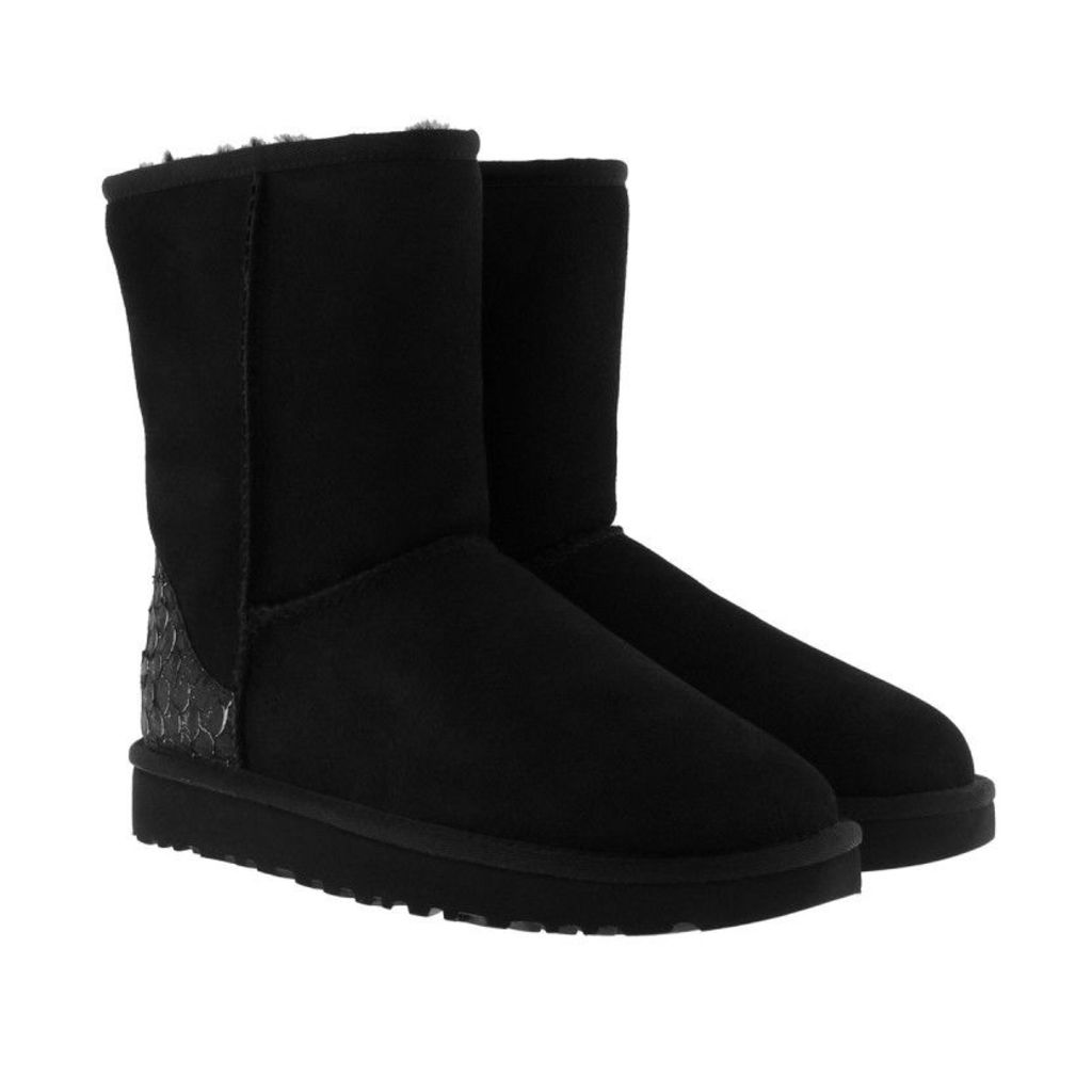 UGG Boots & Booties - Classic Short Perla Black - in black - Boots & Booties for ladies