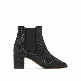 Donelo Glitter Ankle Boots
