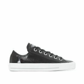CTAS Crinkled Patent Leather Ox Trainers