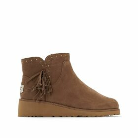 Cindy Sheepskin Ankle Boots