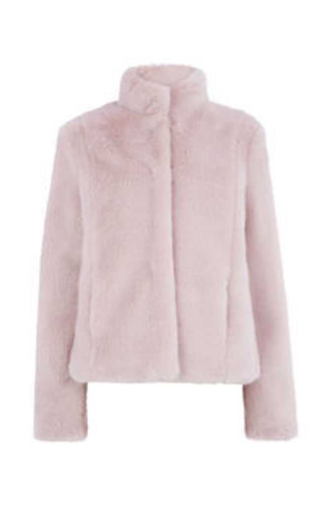 FIFI FAUX FUR JACKET