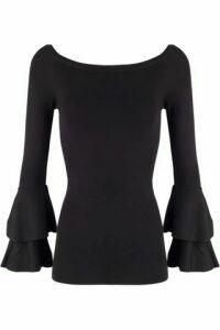 Bardot Frill Sleeve Knit