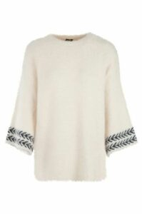 Boucle Knitted Jumper