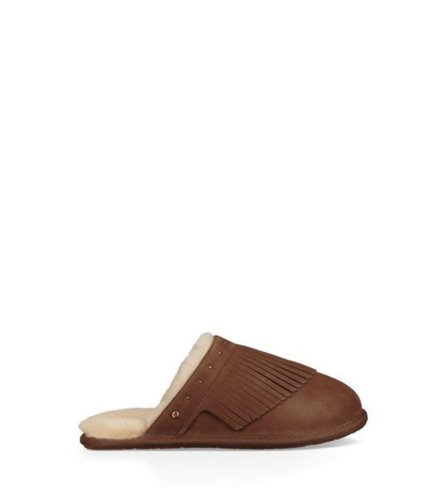 UGG Amarina Womens Slippers Dark Chestnut 5