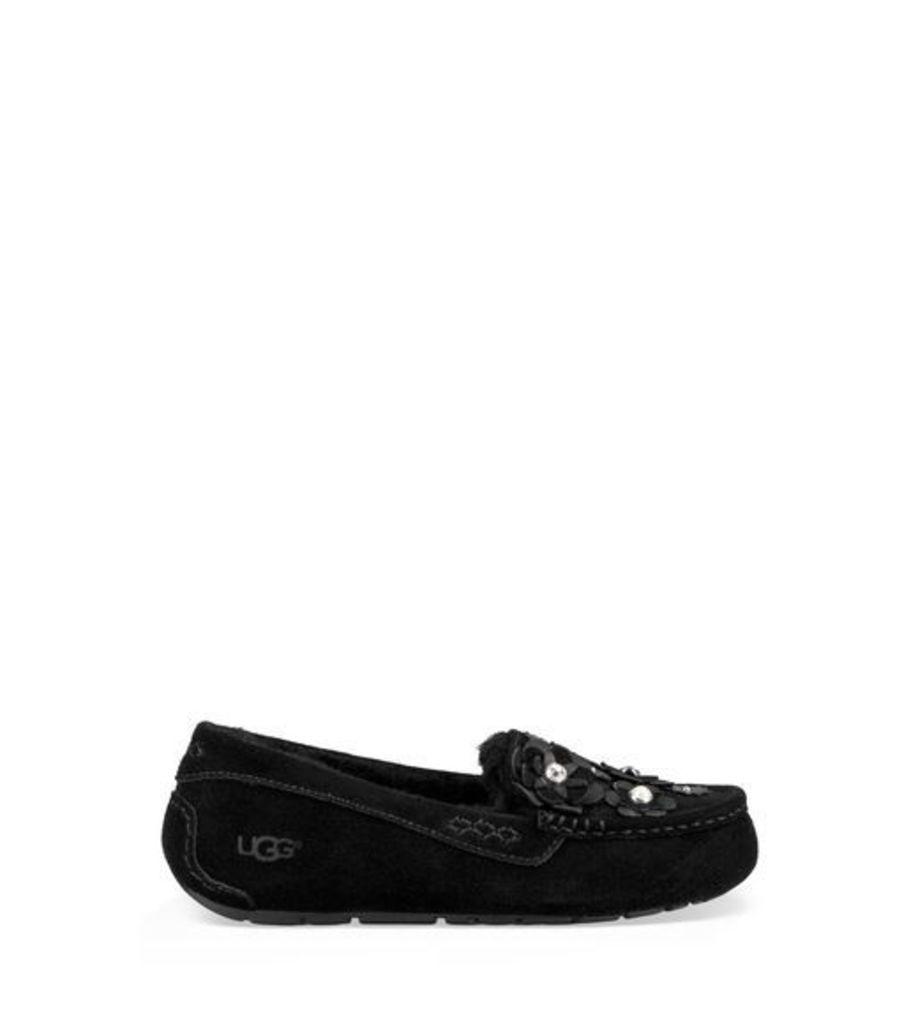 UGG Ansley Petal Womens Slippers Black 6