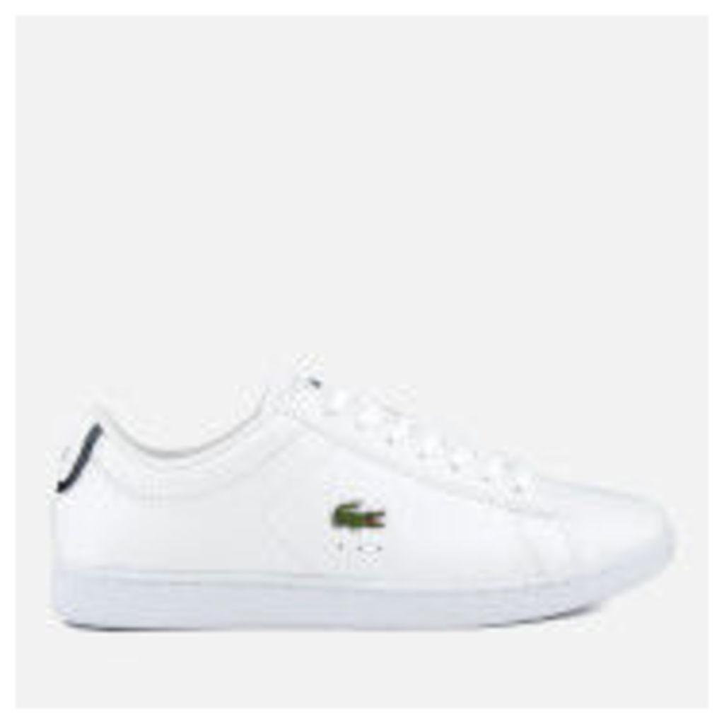 Lacoste Women's Carnaby Evo Bl 1 Court Trainers - White