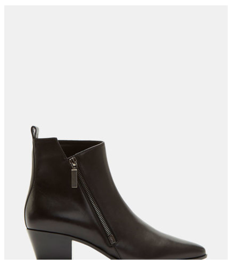Rock 40 Zip Ankle Boots