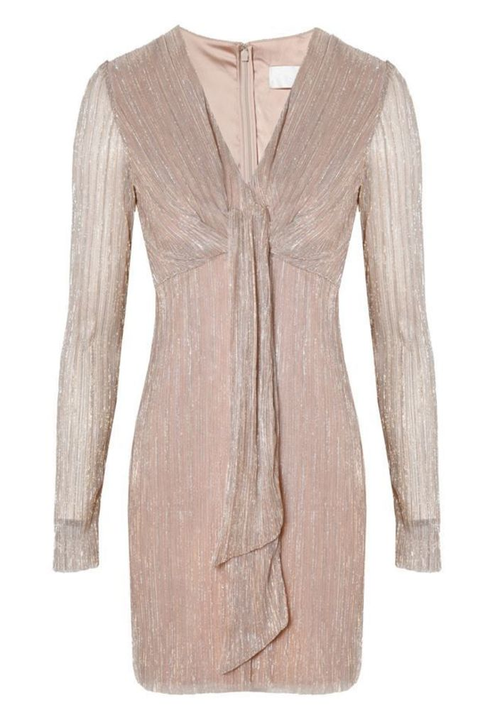 Avalon Mini Dress Blush