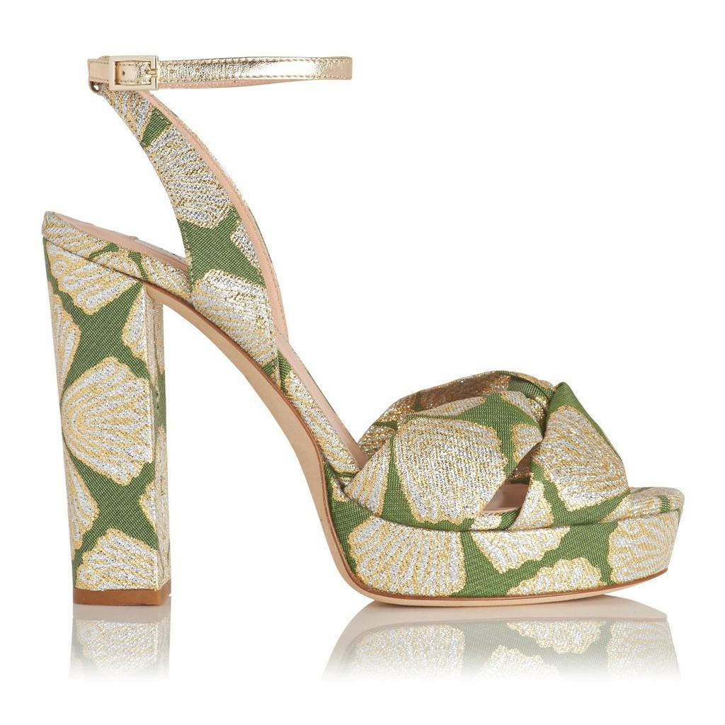 Annabella Green Formal Sandals