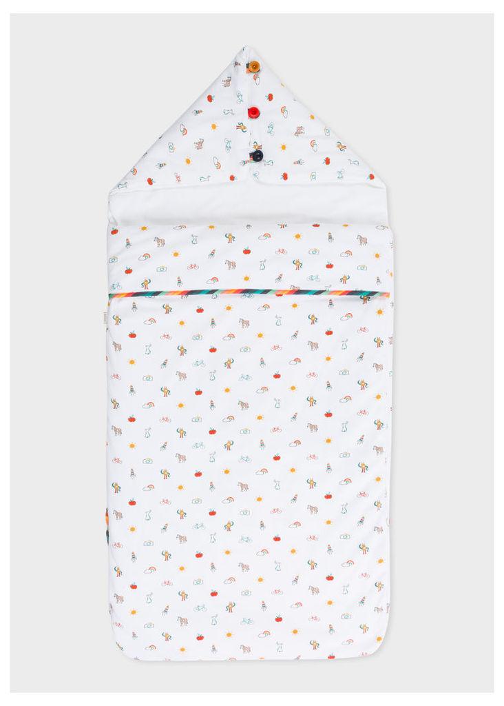 Babies' Sleeping Bag With Mixed-Motif Print