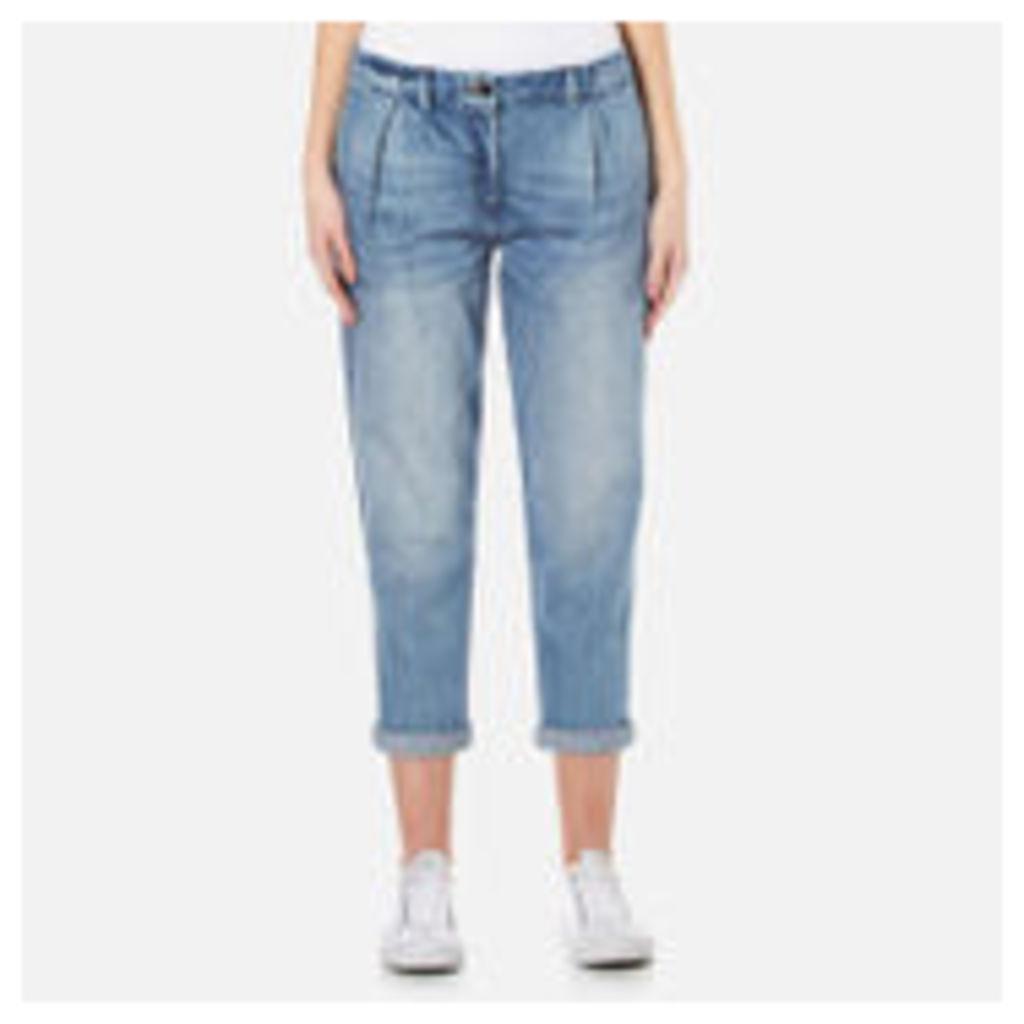 Barbour Heritage Women's Jeans - Light Wash - UK 10 - Blue