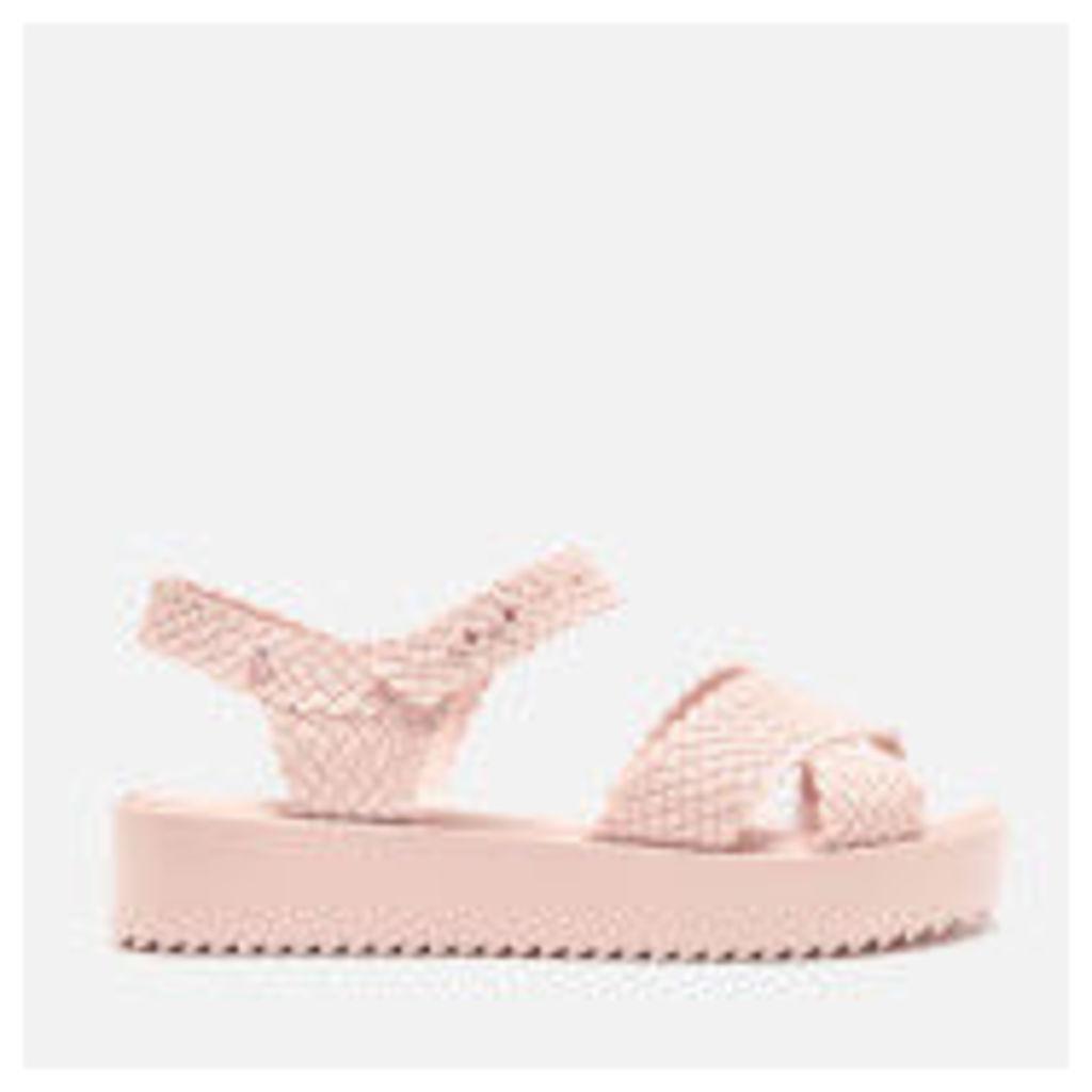 Melissa Women's Salinas Hotness Flatform Sandals - Blush - UK 7 - Pink