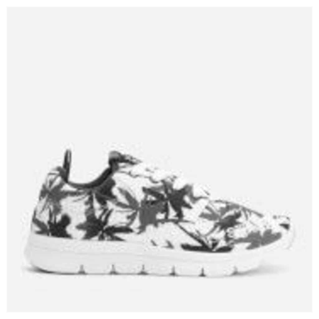 Superdry Women's Scuba Runner Trainers - Electric Palm Mono - UK 3 - White