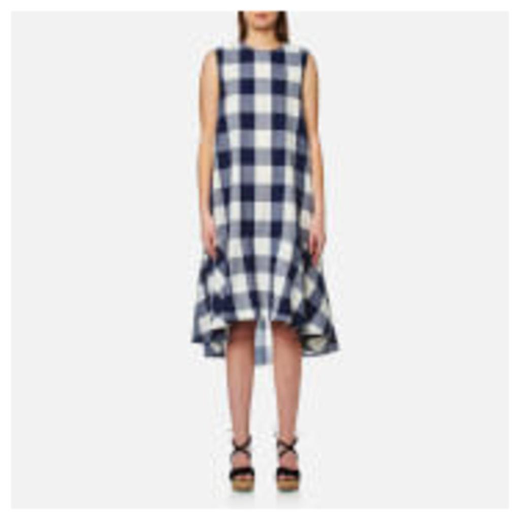 Paisie Women's Check Trapeze Dress - Multi - S - Multi