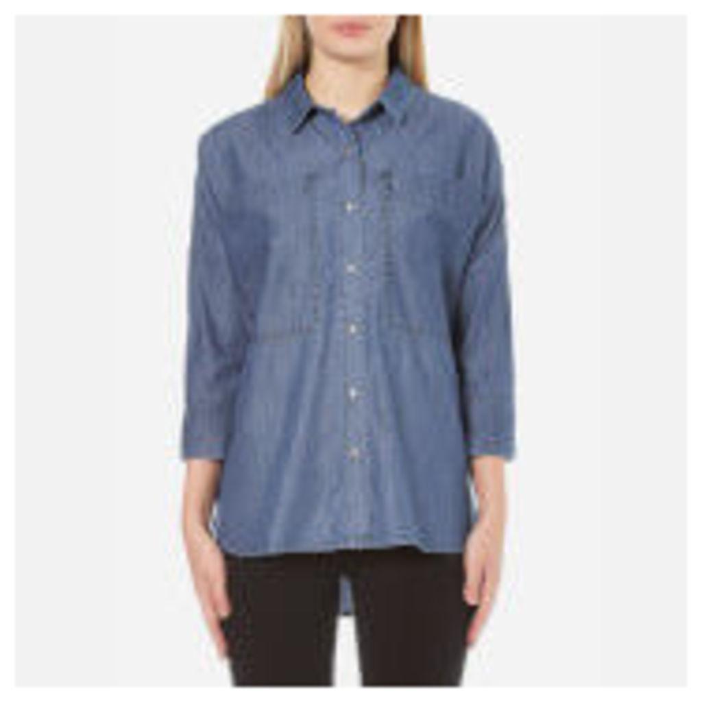 Barbour International Women's Hopnel Shirt - Chambray - S/UK 10 - Blue