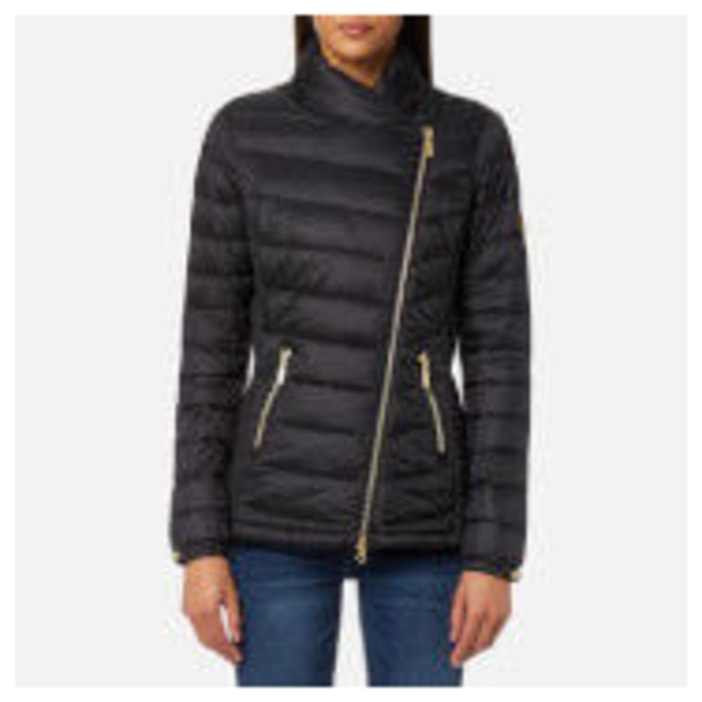 Barbour International Women's Jurby Quilt Jacket - Black - UK 8 - Black