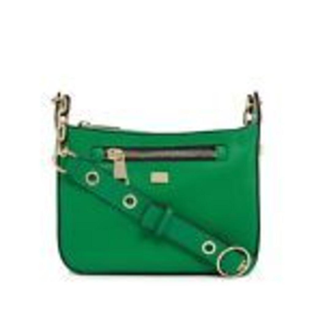 Star By Julien Macdonald Womens Green Zip Detail Cross Body Bag From Debenhams