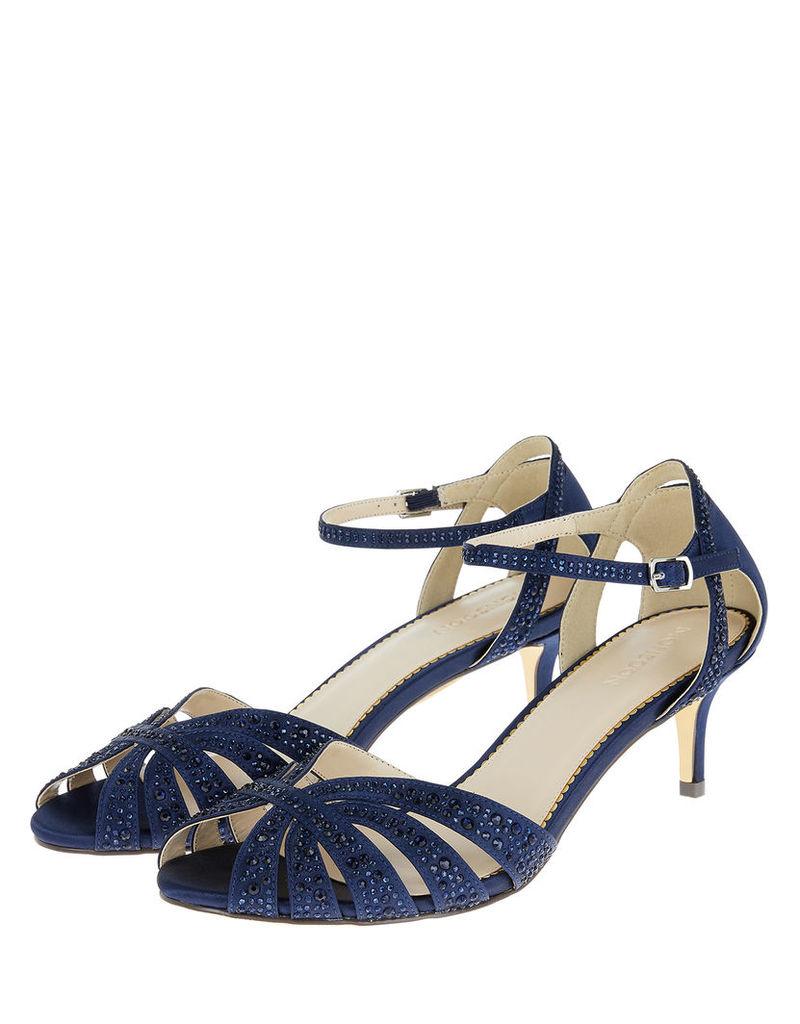 Marie Kitten Heel Heat Seal Sandals