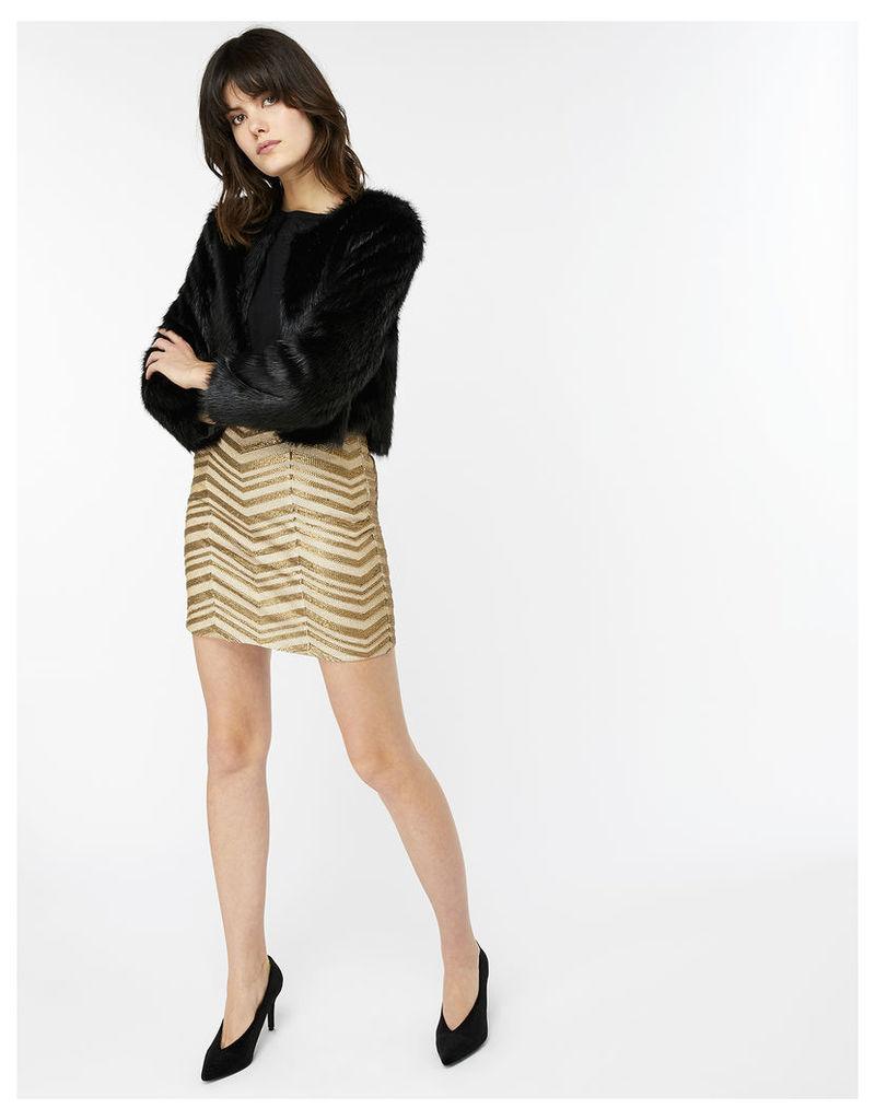 Zahoo Sequin Skirt