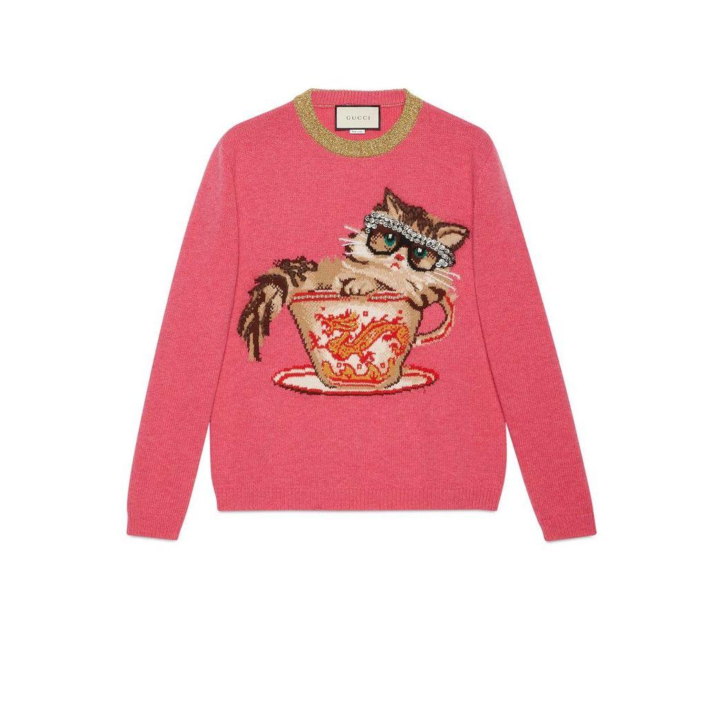 Ignasi Monreal wool knit sweater