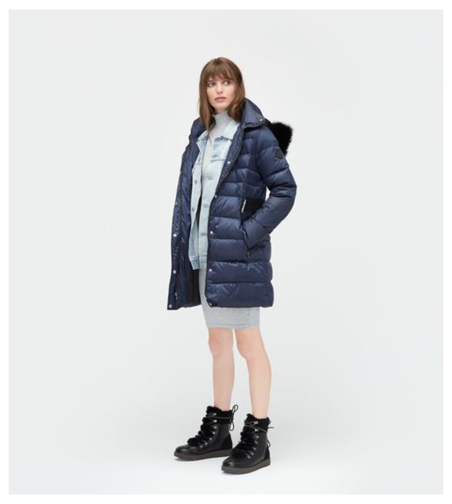 UGG Belted Down Jacket Womens Outerwear Nocturn M