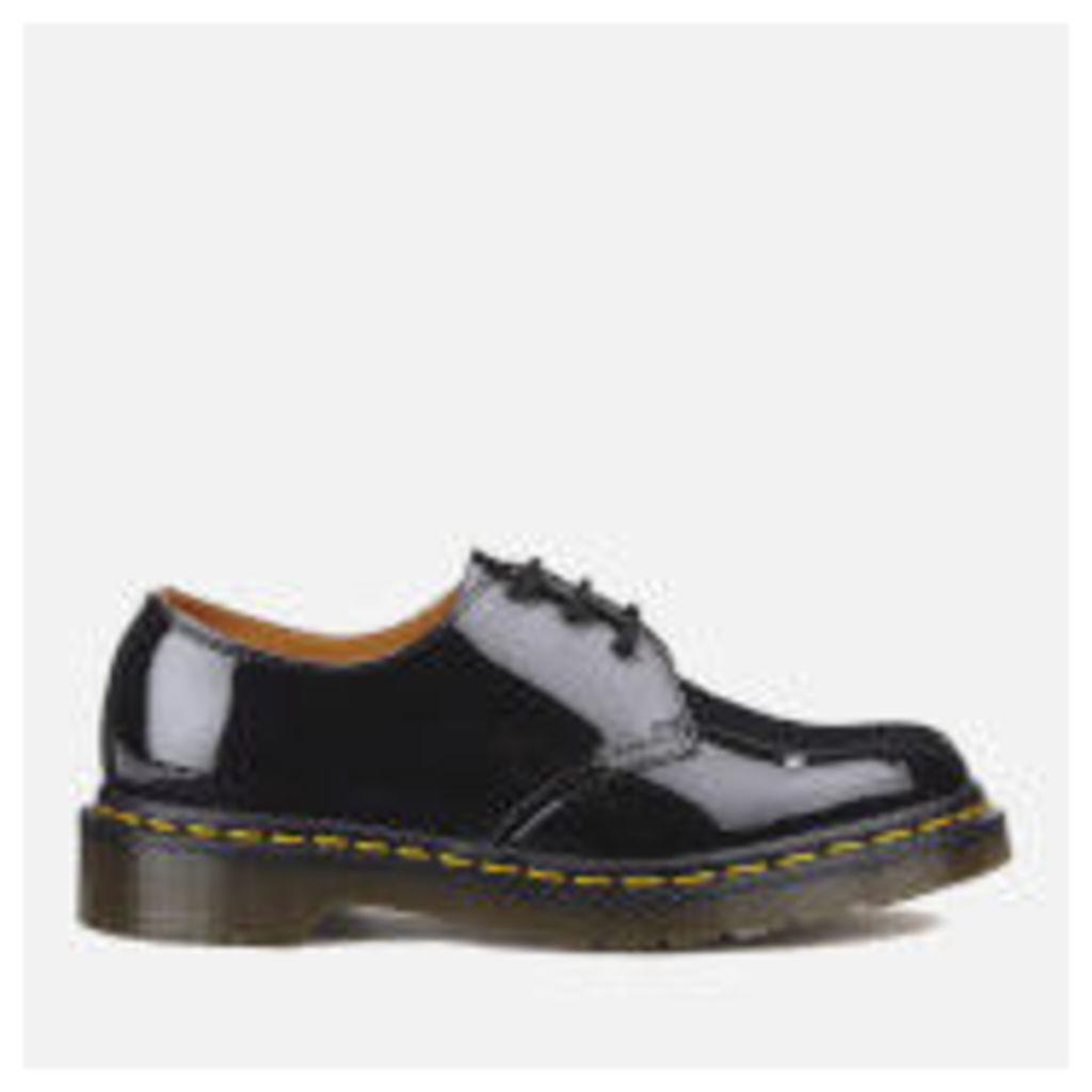 Dr. Martens Women's 1461 W Patent Lamper 3-Eye Shoes - Black