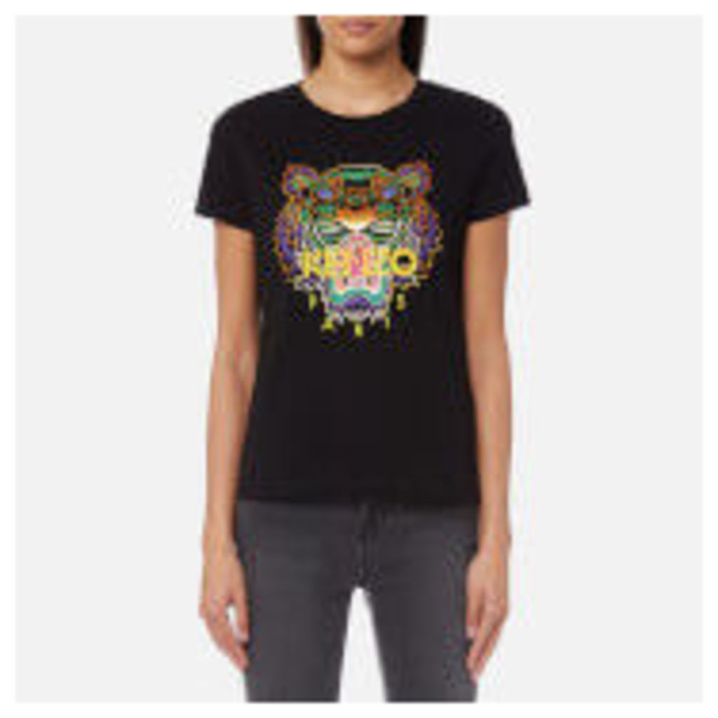 KENZO Women's Tiger T-Shirt - Black - L - Black