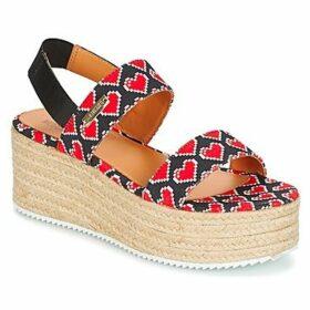 Love Moschino  JA16077I15  women's Sandals in Black