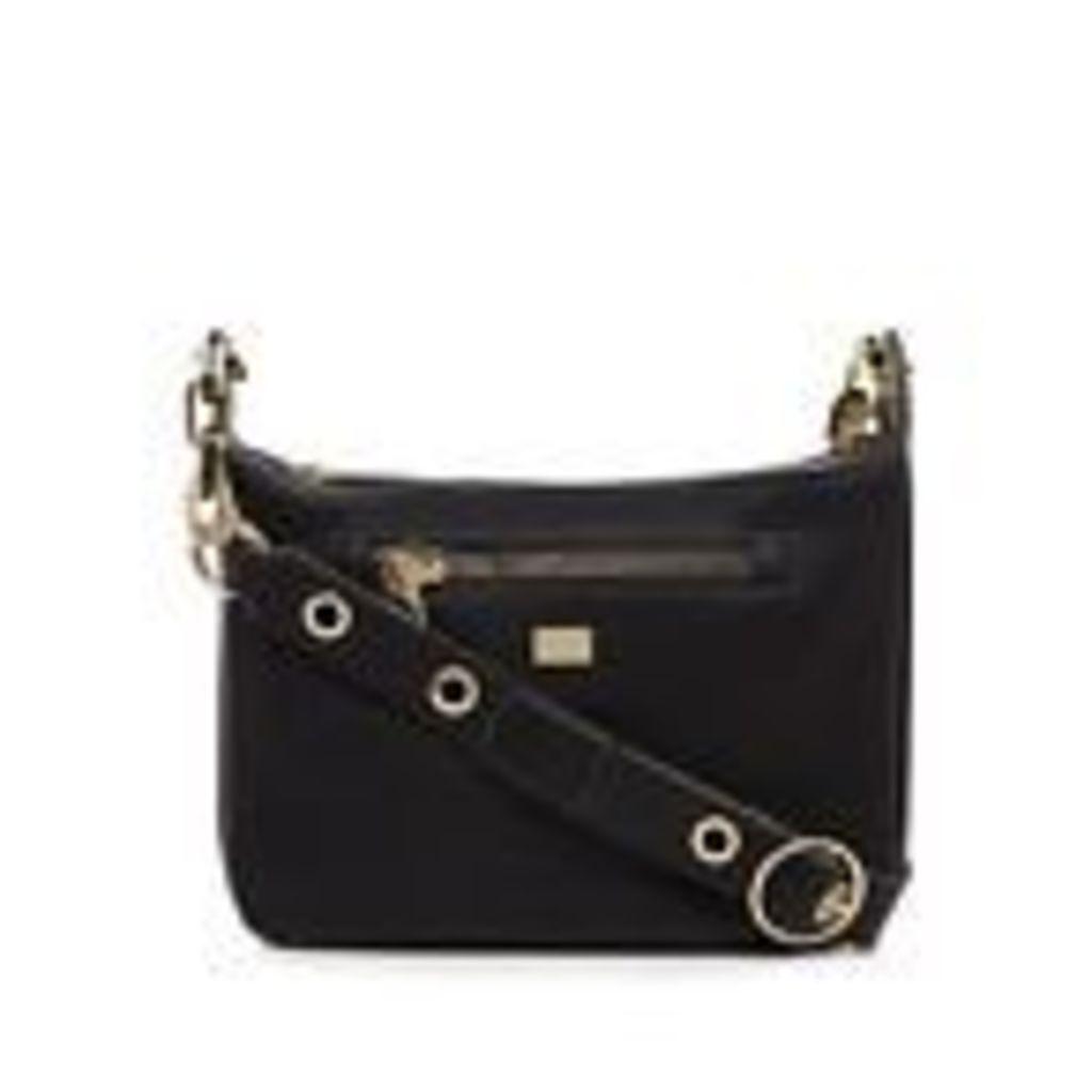 Star By Julien Macdonald Womens Black Zip Detail Cross Body Bag From Debenhams